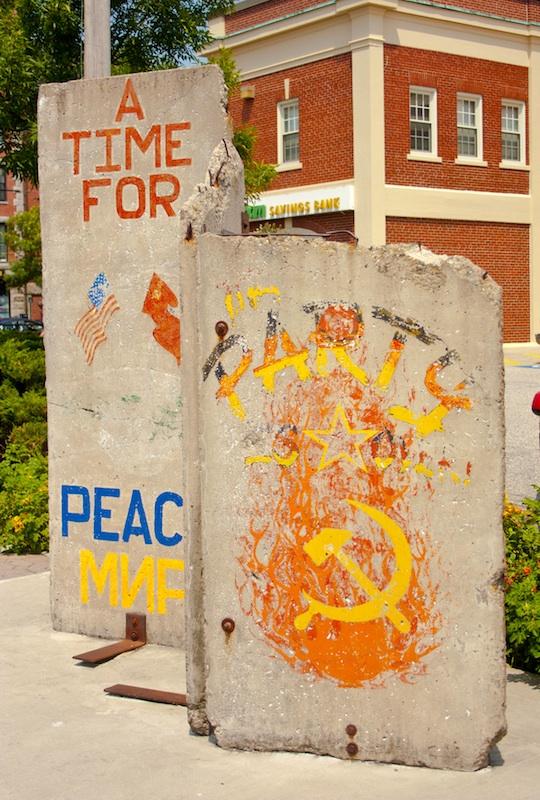 The Berlin Wall in Portland, ME