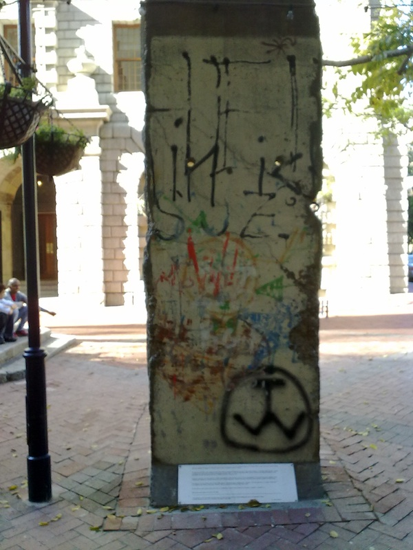 Berlin Wall in Cape Town