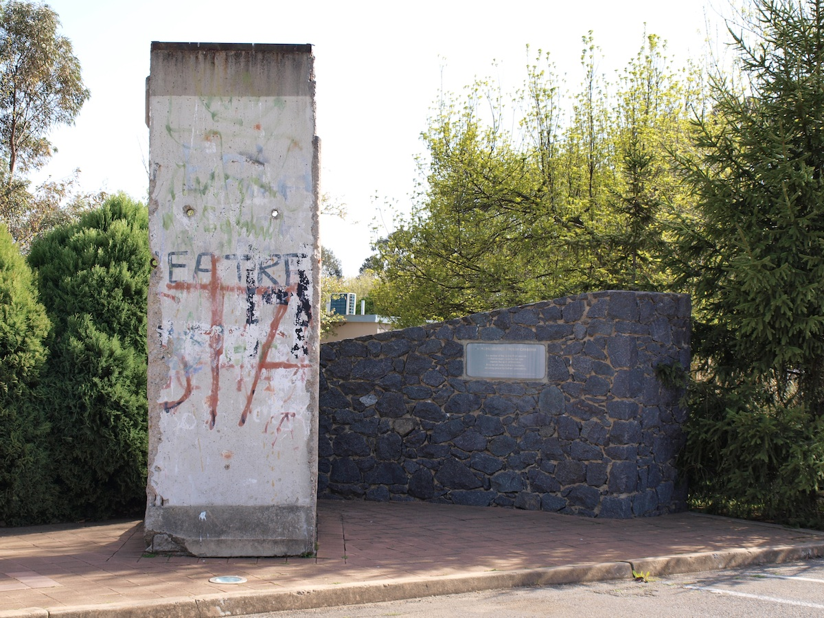 Berlin Wall in Canberra