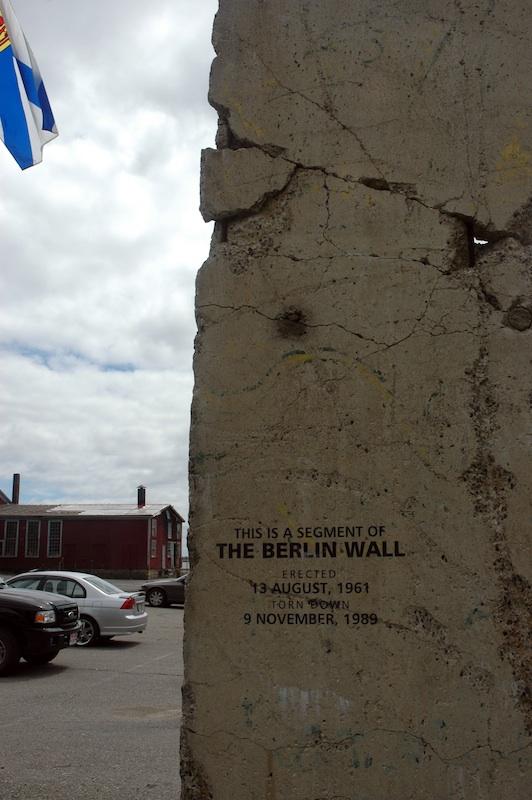 Berlin Wall in Lunenburg