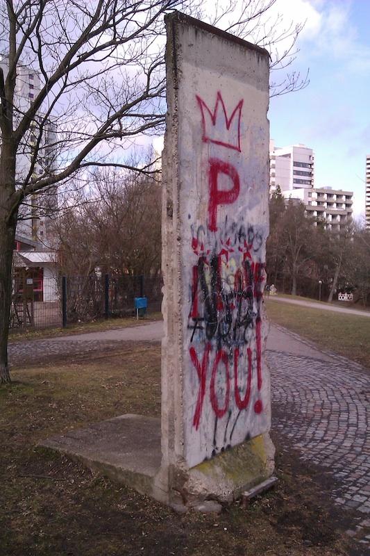Berlin Wall in Leonberg