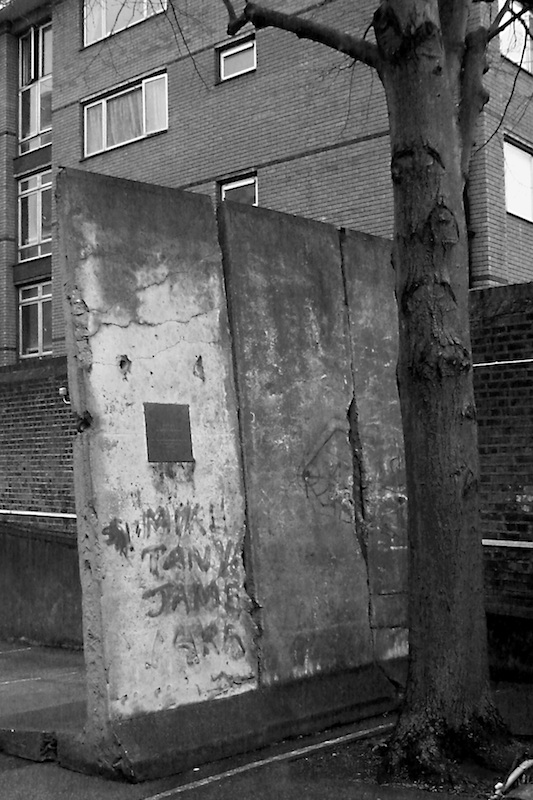Berlin Wall in London