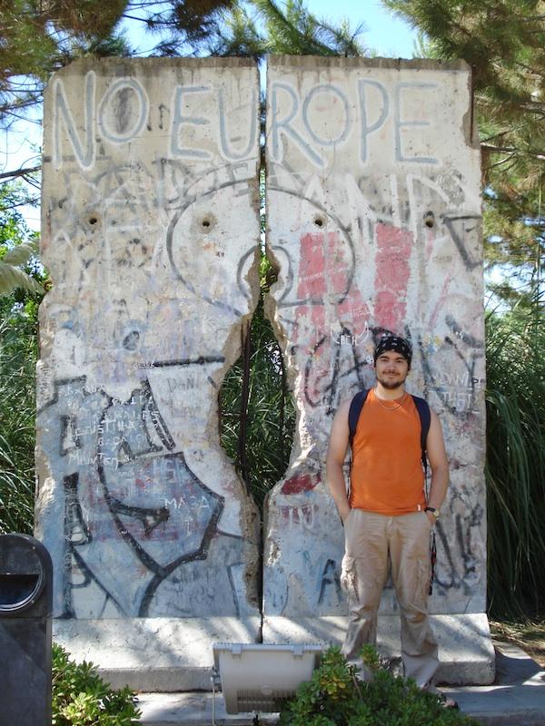 Berlin Wall in Sevilla