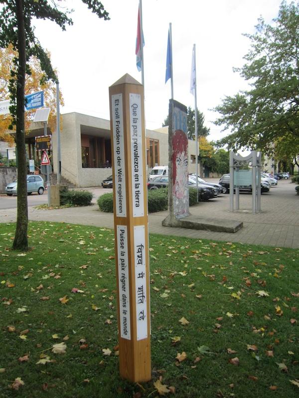 Berlin Wall in Schengen