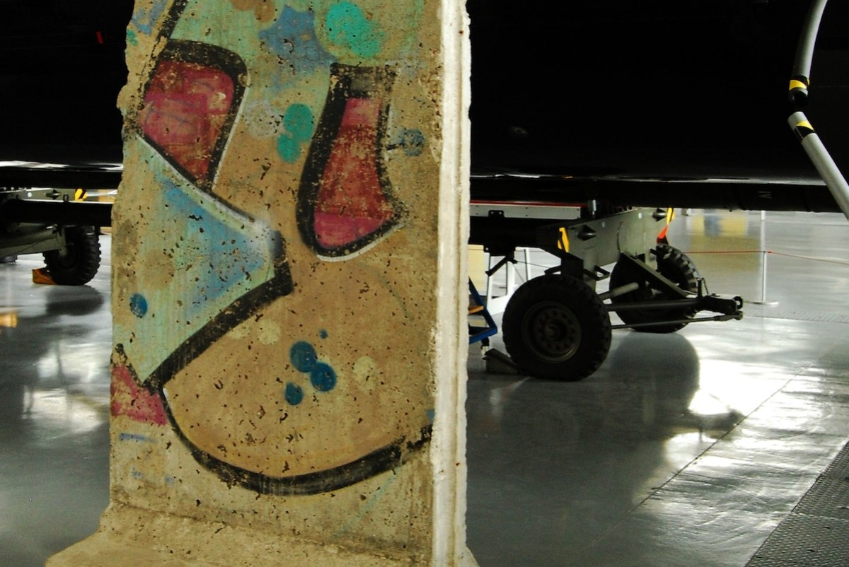 Berlin Wall in Duxford