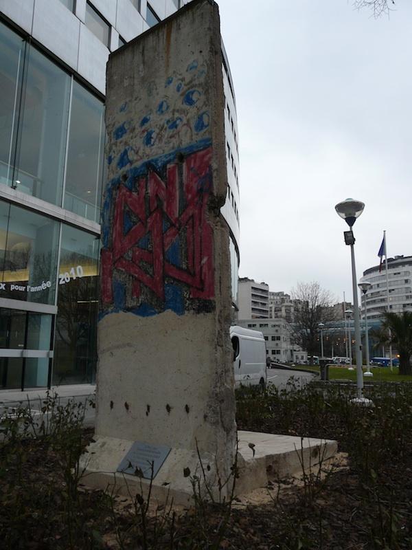 Berlin Wall in Paris