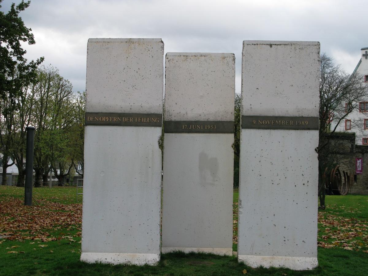 Berlin Wall in Koblenz