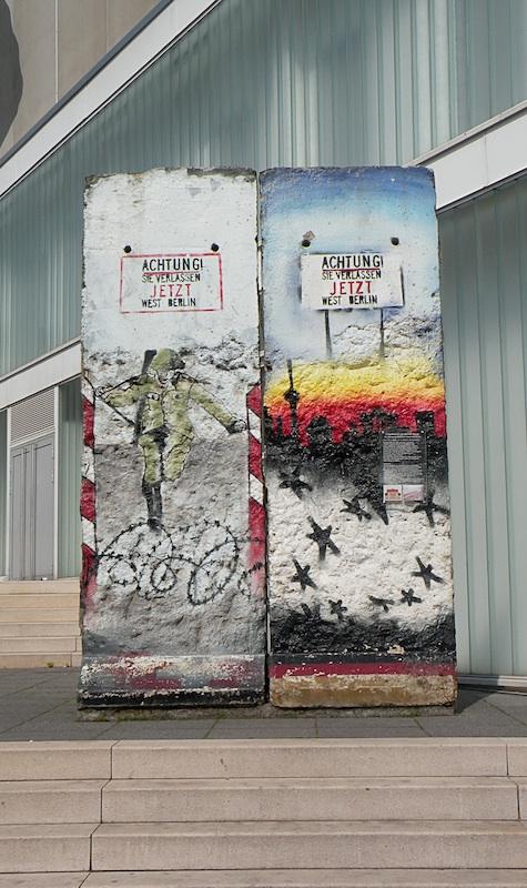Berlin Wall in Weimar
