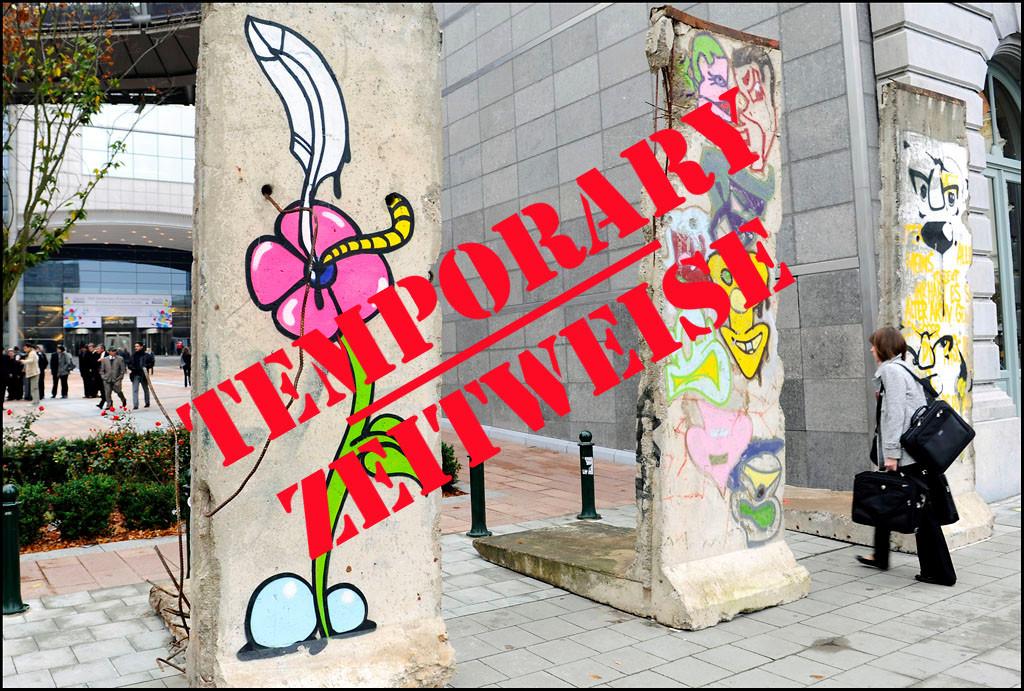 Berlin Wall in Brussels