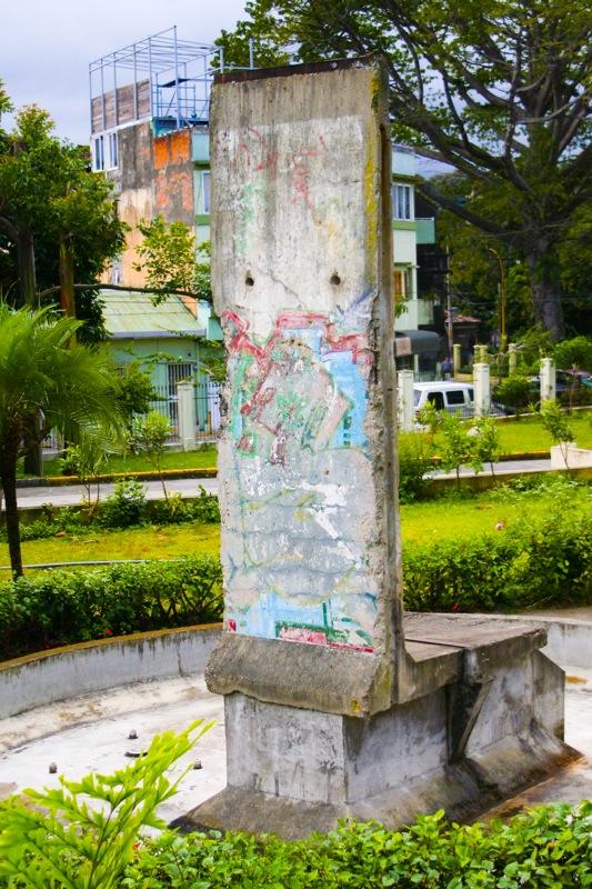 Berlin Wall in San Jose