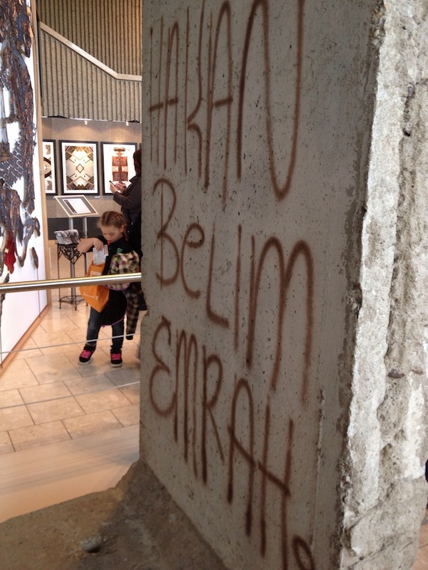 Berlin Wall in Grand Rapids