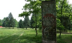 Berlin Wall in Chalk Hill/Kentuck Knob