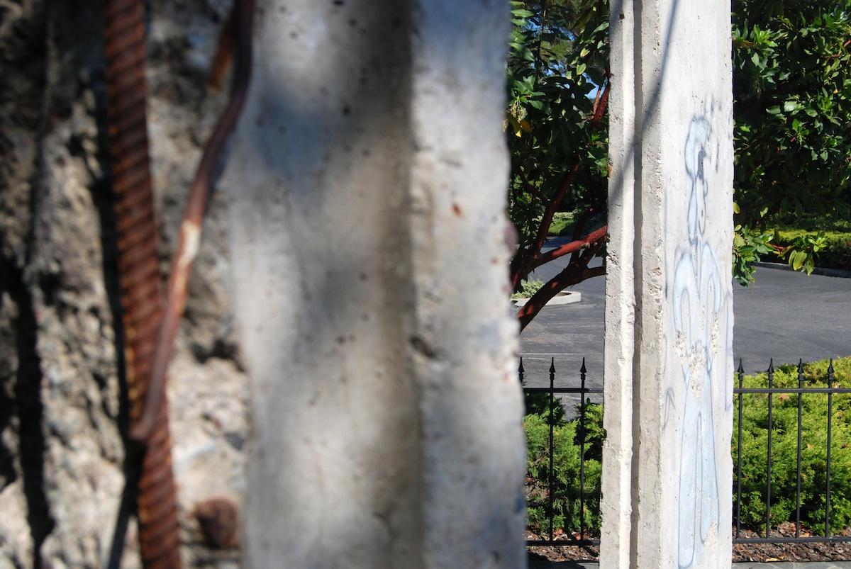 Berlin Wall in Mountain View