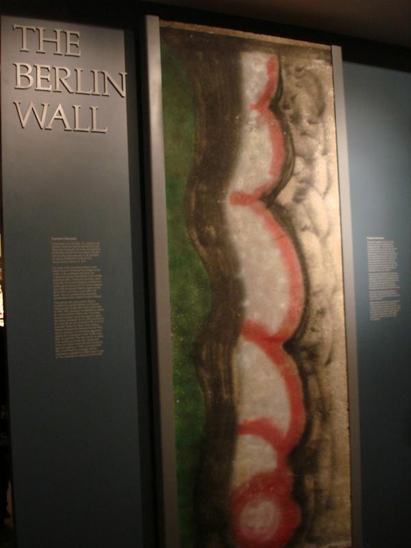 Berlin Wall in West Branch