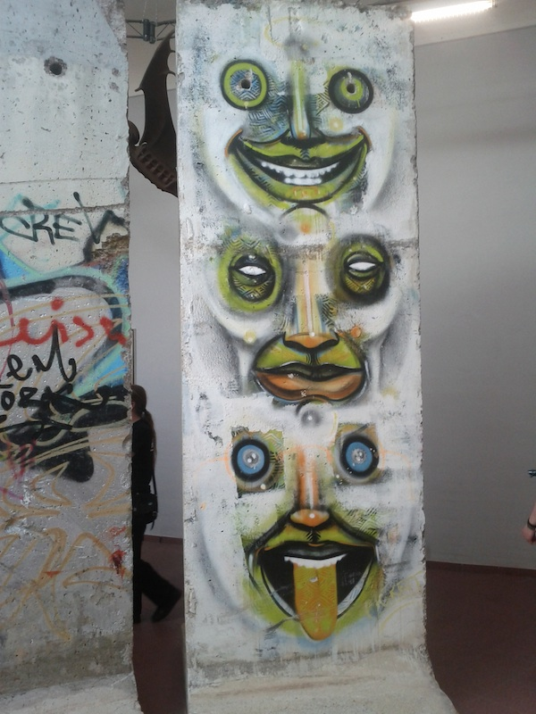 Berlin Wall in Leipzig