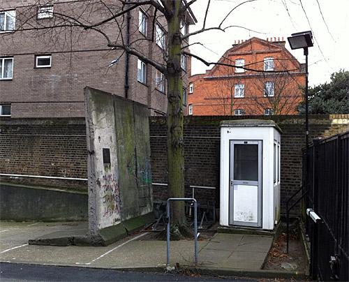 Berlin Wall in London