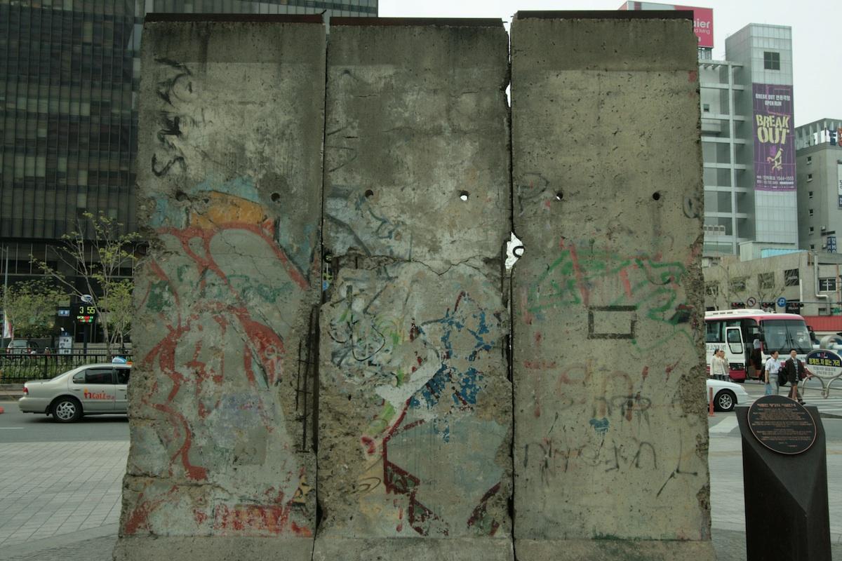 Berlin Wall in Seoul