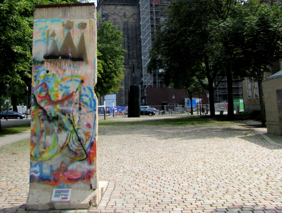 Berlin Wall in Magdeburg