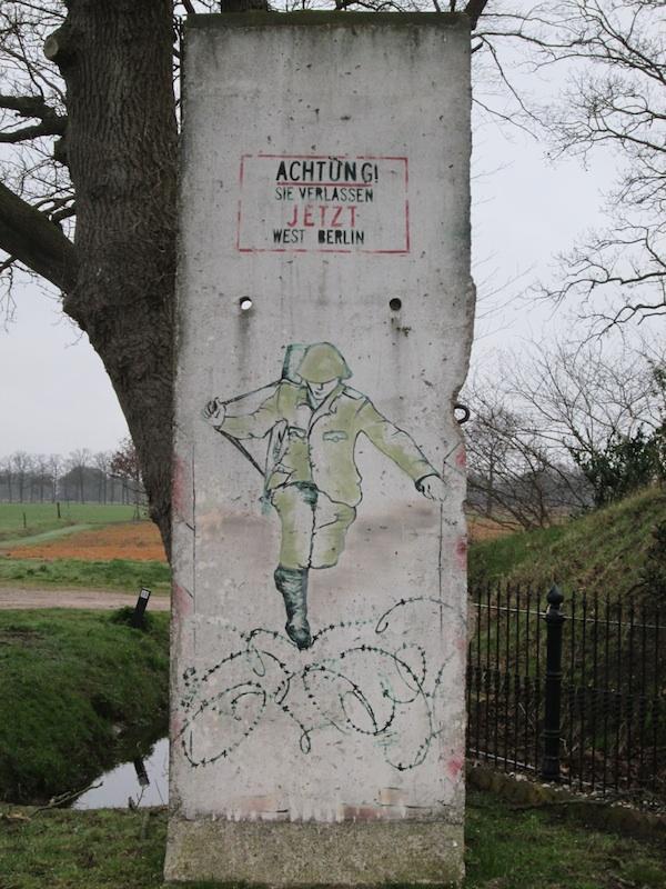 Berlin Wall in De Wolden