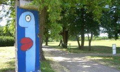 Berlin Wall in Tremmen