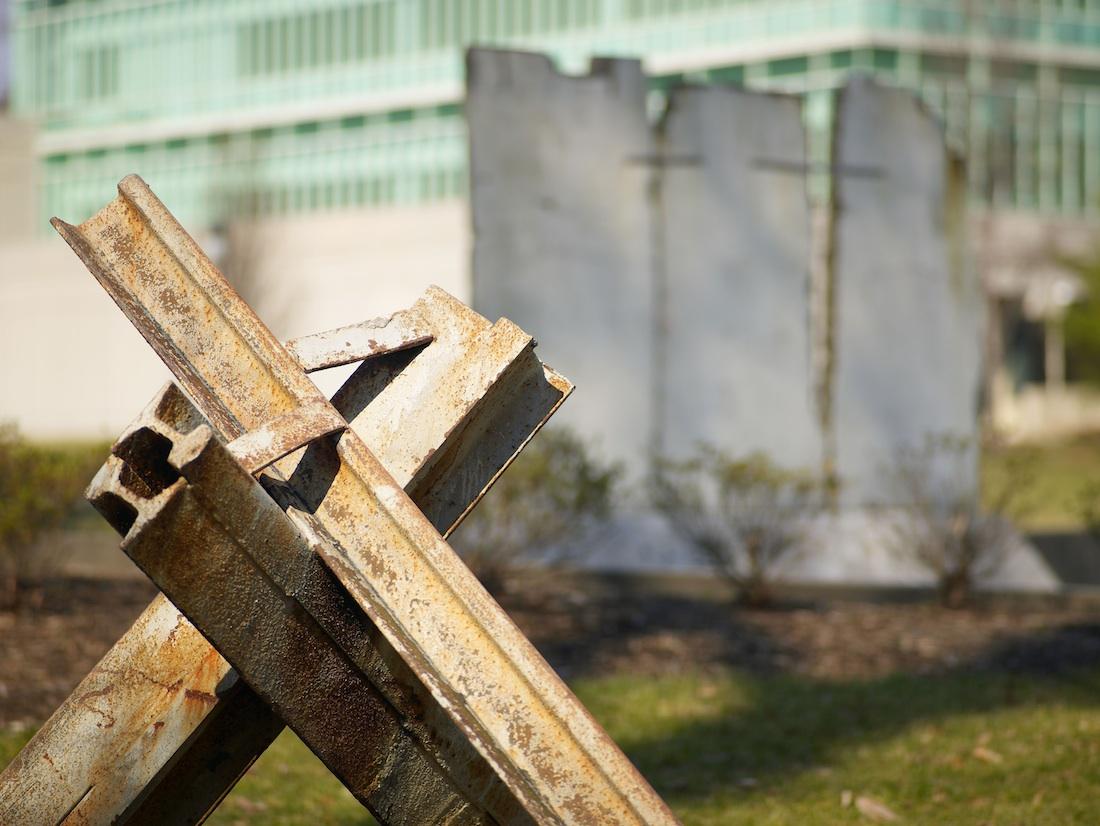 Berlin Wall in Langley