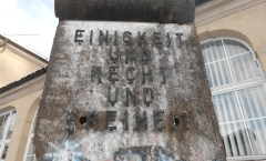 Berlin Wall in Stetten am Kalten Markt