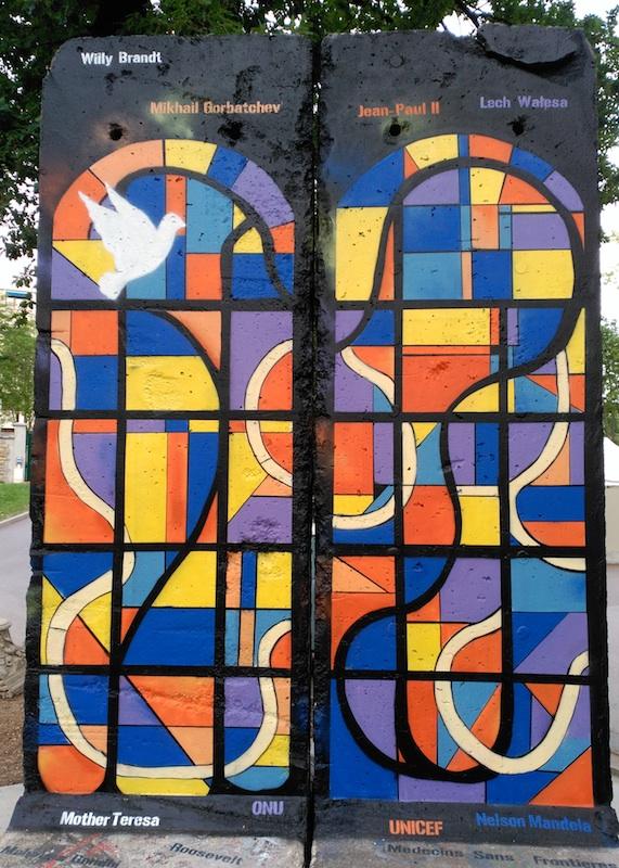 Berlin Wall in Colombes