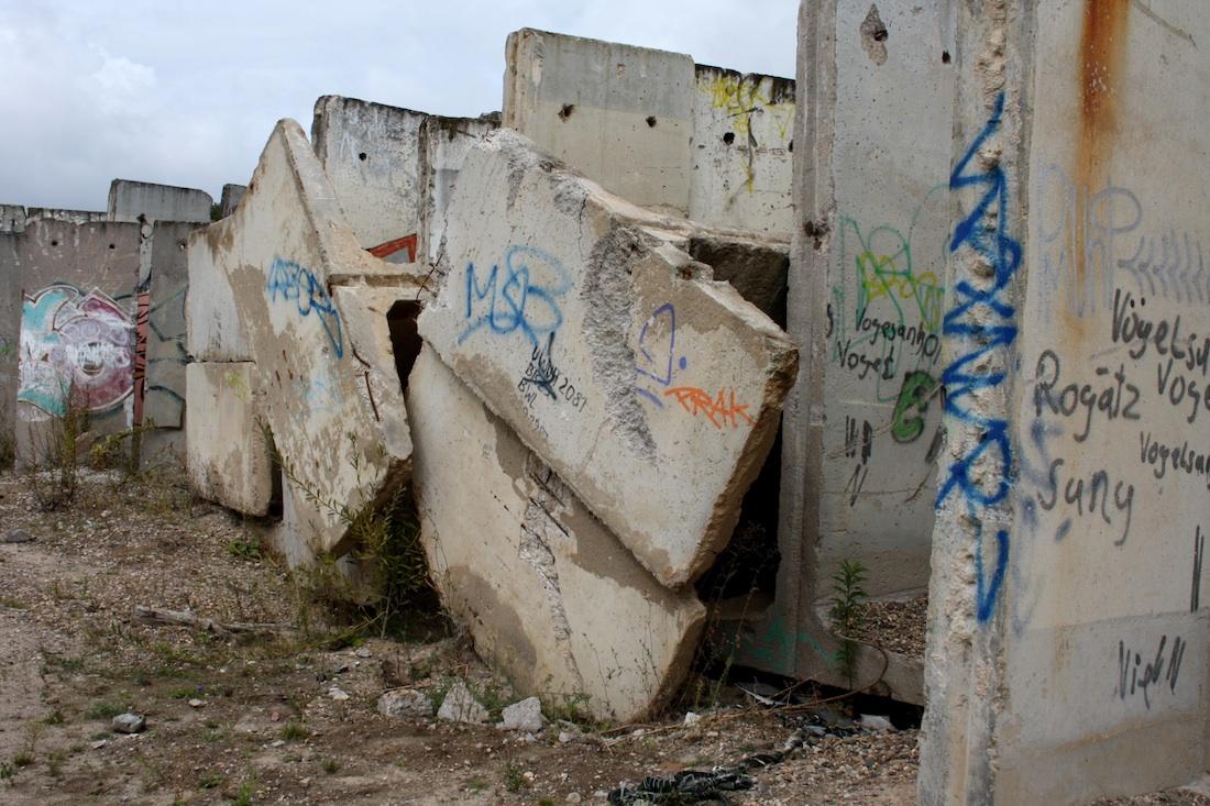 Berlin Wall in Teltow