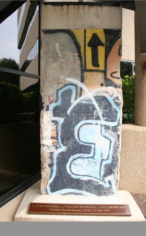 Berlin Wall in Reston