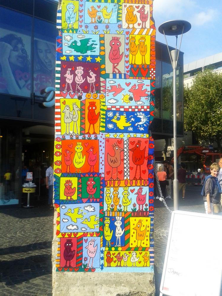 Berlin Wall by James Rizzi