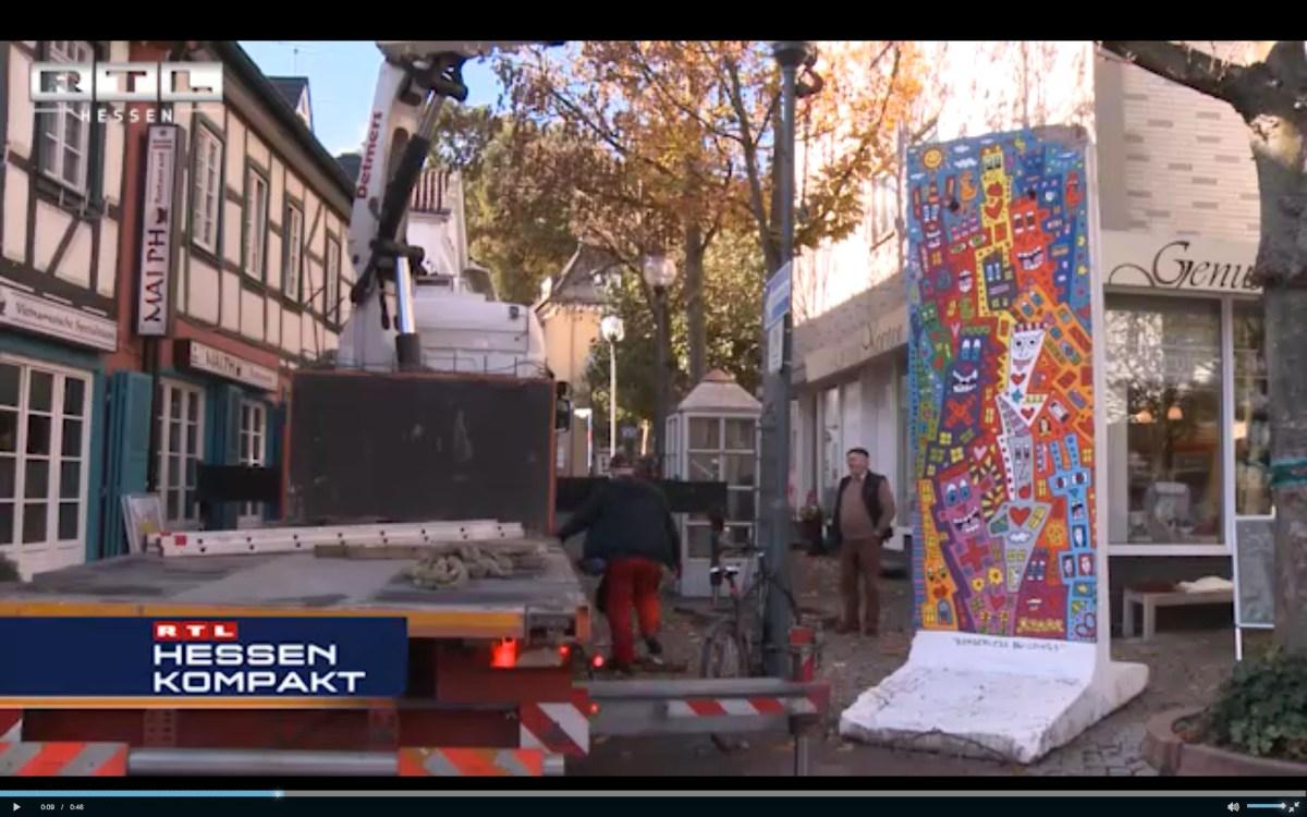 Berlin Wall in Bad Soden