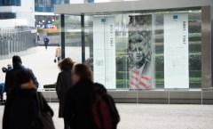 Berlin Wall in Brussels, Belgium