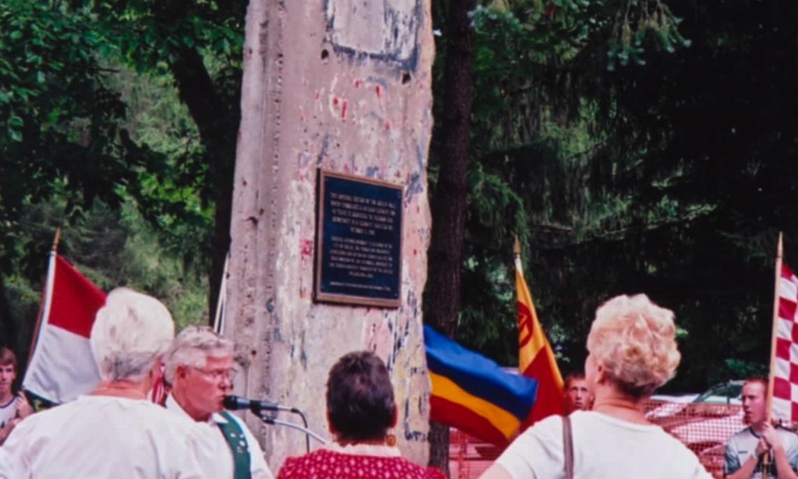 Berlin Wall in Warminster, Pennsylvania