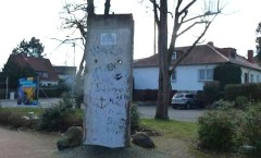 Berlin Wall in Fritzlar