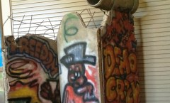 Berlin Wall in Fort Sill, Oklahoma
