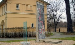 Berlin Wall in Krzyzowa, Poland