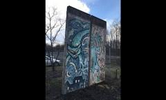 Berlin Wall in Mönchengladbach, D