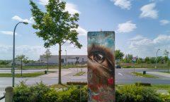 Berlin Wall in SXF