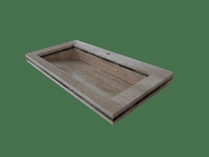 Roman Travertine washbasin model AM200