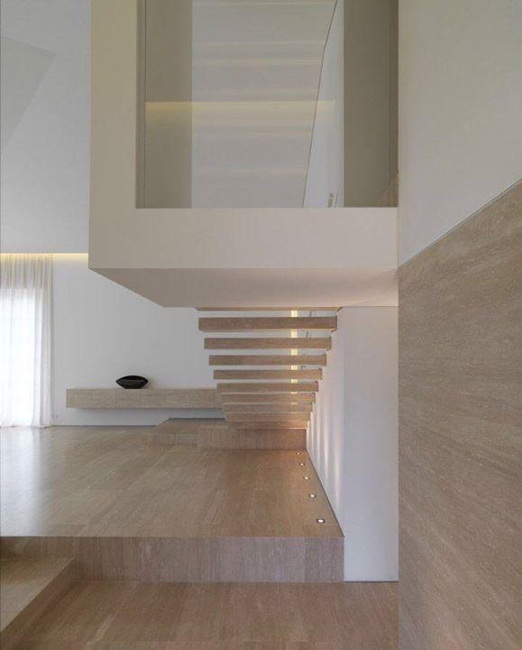 Roman Travertine Stairs
