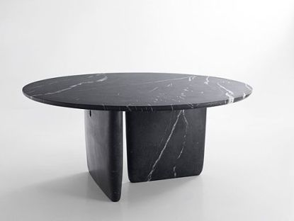 black marquina marble table Bangkok model