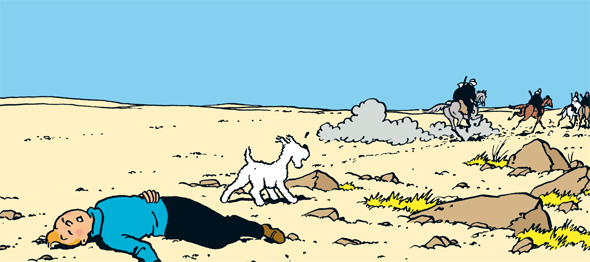 Image result for tintin and the land of black gold