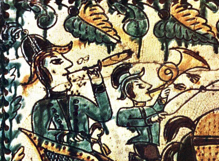 Motives of the Hutsul Pottery Painting