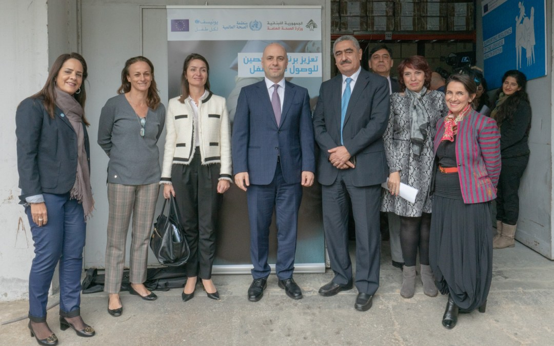 European Union support for the Lebanese Healthcare System reaches €173 million