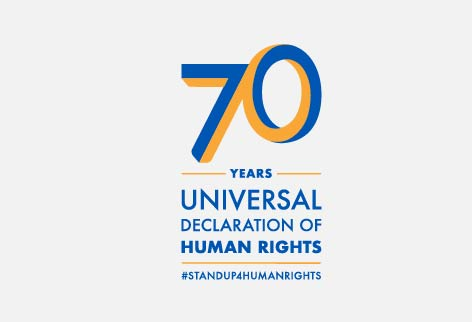 Stand up for human rights and celebrate the 70th anniversary of the Universal Declaration for Human Rights