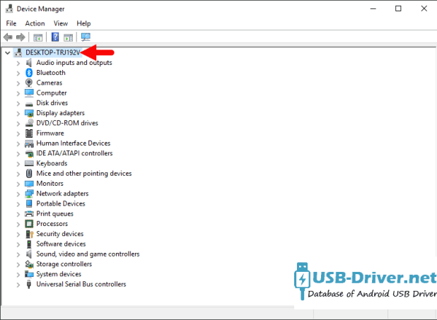 Download Pixus Play five 10.1 USB Driver - device manager computer name 1