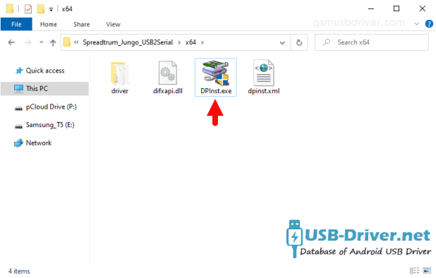 Download Gfive 4 Light USB Driver - spreadtrum jungo dpinst