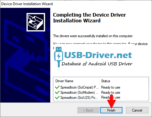 Download Gfive Don USB Driver - spreadtrum sci success