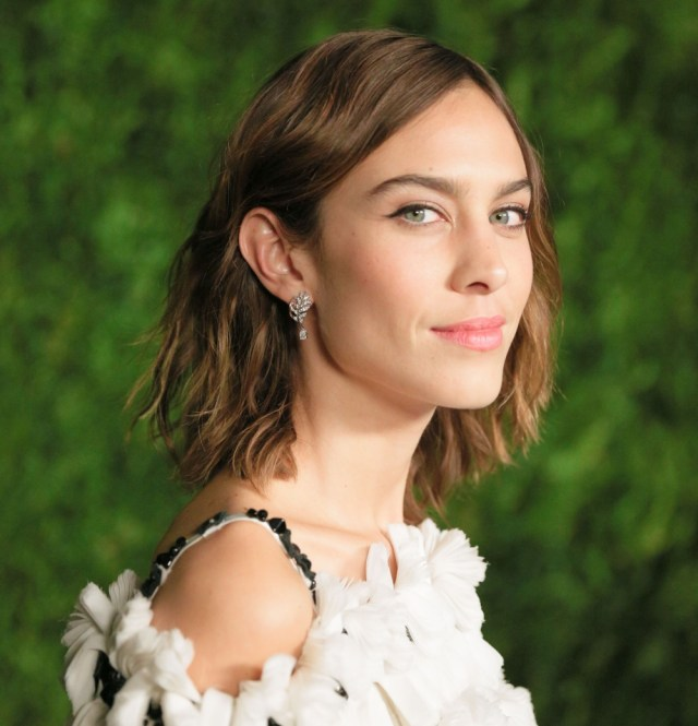 Mandatory Credit: Photo by Matteo Prandoni/BFA/REX/Shutterstock (7439307j) Alexa Chung The Museum of Modern Art Film Benefit presented by Chanel, Arrivals, New York, USA - 15 Nov 2016 Designer Collaboration ( Fashion and Lifestyle) 2017
