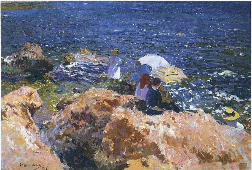 Image result for The white boat javea by Sorolla